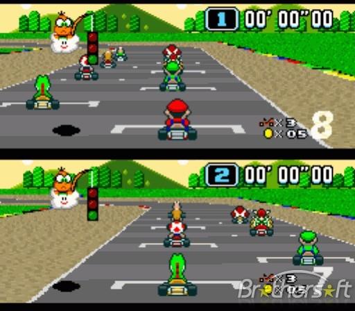 Downloading Mario Kart